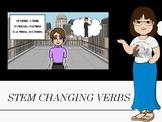 Spanish Stem Changing Verbs (stem changers)