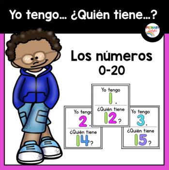 Spanish: Yo tengo... ¿Quién tiene...? Los números 0-20