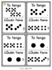 Spanish: Yo tengo... ¿Quién tiene...? Subitize: Dot Patterns to 20