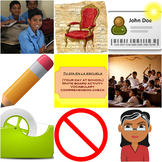 Spanish: Your day at school, class room items and rules