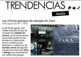 Spanish Zara Fashion Reading Activity
