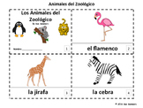 Spanish Zoo Animals 2 Emergent Reader Booklets - Animales del Zoológico
