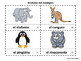 Spanish Zoo Animals 2 Emergent Reader Booklets - Animales del Zoológico