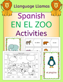 Spanish Zoo Animals - En El Zoo - Activities Pack - los animales