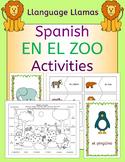 Spanish Zoo Animals - En El Zoo - Activities Pack - los animales