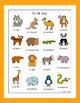 Spanish Zoo Animals - En El Zoo - Puzzles Pack