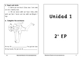 Spanish activities 2º Primary School