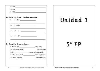 Spanish activities 5º Primaria School