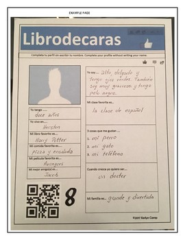 Spanish activity for the first week of school
