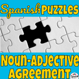Hands-on learning: noun-adjective agreement in Spanish