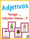Spanish adjectives  Tengo ... ¿Quién tiene ...?