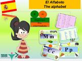 Spanish alfabeto, alphabet PPT for beginners
