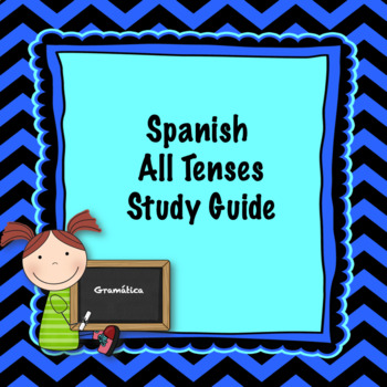 Spanish all tenses study guide