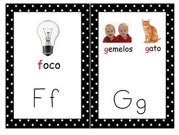 Spanish alphabet!!