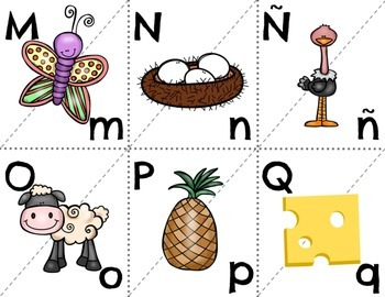 Spanish alphabet case matching with cue words
