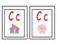 Spanish alphabet circle time cards