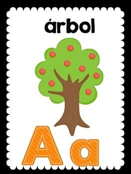 Spanish alphabet/ el abecedario en español