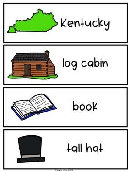 Spanish and English Abraham Lincoln Vocabulary