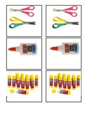 Preschool Classroom Labels for toy shelves