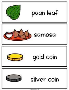 Spanish and English Diwali Vocabulary