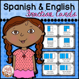 Spanish Fraction Picture Cards