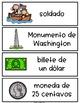 Spanish and English George Washington Vocabulary