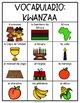Spanish and English Kwanzaa Vocabulary