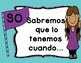 Spanish and English Objective Board Labels (kid friendly)