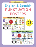 Spanish and English Punctuation Marks Posters – Set of 2