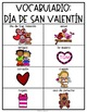 Spanish and English Valentine's Day Vocabulary