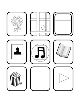 Spanish and English first day activity ipod