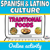 Spanish Foods Webquest (Distance Learning)