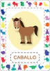 Spanish animal themed flashcards