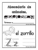 Spanish animals ABC