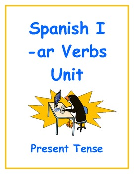 Spanish -ar Verbs Inductive Lesson Plan