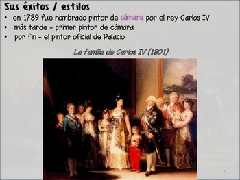 Spanish art - Goya notes