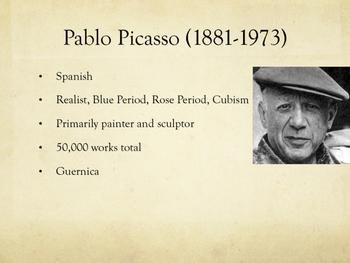 Spanish art presentation & artist biography