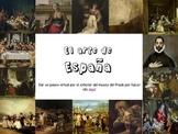Spanish art - speaking activity