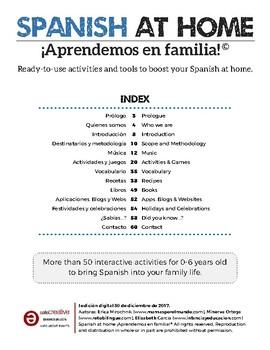 Spanish at Home - Aprendemos en familia!