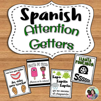 Spanish attention getters - call and response rhymes