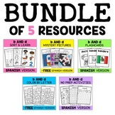 Spanish b and d Reversal Bundle