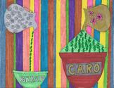 Spanish barato caro artwork