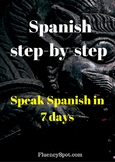 Spanish for beginners. Step-by-step guide. Speak Spanish i