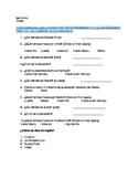 Spanish beginner's weather listening worksheet for Miguel y Sabo video