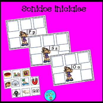 Spanish beginning sounds/ Sonidos iniciales