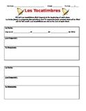 Spanish bell ringer / tocatimbre worksheet