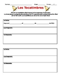 Spanish bell ringer / tocatimbre worksheet