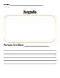 Spanish biography page - free