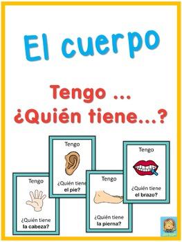 Spanish body  Tengo ... ¿Quién tiene ...?
