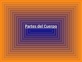 el cuerpo/Body parts in Spanish-PPT